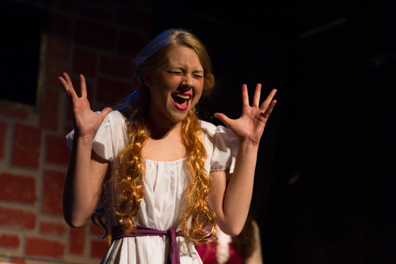 "Tayla Thomas as Penelope in ""Shining Armour"""